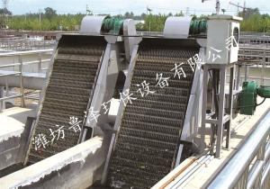 BF型回转耙式格栅除污机污水处理设备