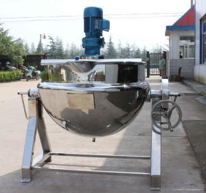 JCG廠家直銷食品級夾層鍋反應釜設備電加熱攪拌