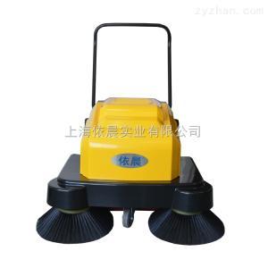 物業小區水泥地面用手推式電動道路清掃車