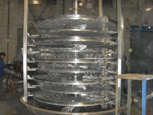 PLG苯胺專用盤式干燥機
