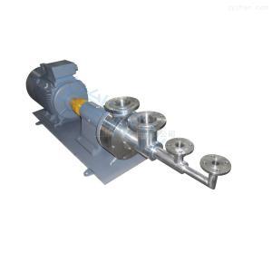 均质乳化泵上海宁能不锈钢均质乳化泵