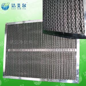齐全上海尼龙网初效过滤器_铝合金外框滤器