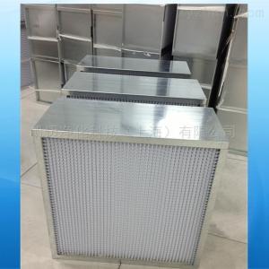 齊全上海紙隔板高效過濾器/有隔板濾器廠家報價