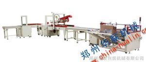 捆扎封箱生產線 河南鄭州捆扎封箱生產線 APL-CSS01 捆扎封箱連動線