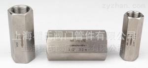 A304不銹鋼內螺紋單向閥上海生產
