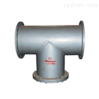 T型管道过滤器