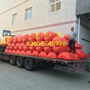 300*1000水庫泵站攔污浮筒 閘口攔截漂浮物浮筒定做