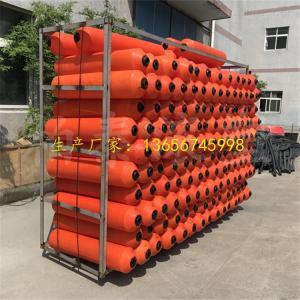200*1000河道攔澡浮筒 水草垃圾漂浮物攔截浮體