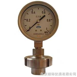 YTFPMF7卫生型隔膜压力表