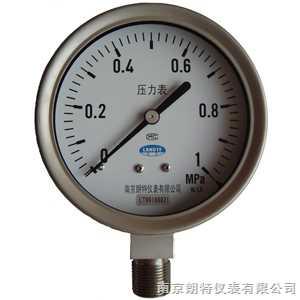 YTF不銹鋼壓力表