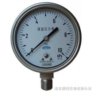 YEF膜盒壓力表