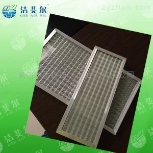 重慶制藥廠平板式金屬網初效過濾器現貨