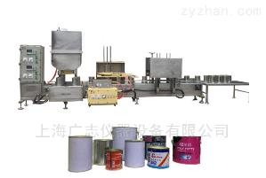 膠水自動裝桶灌裝設備