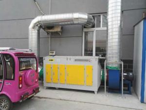 5000風量噴漆房環保設備廠家生產UV光氧凈化器設備