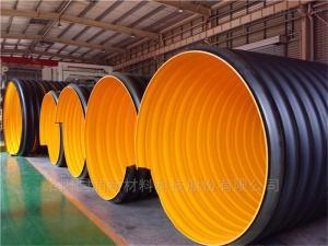 dn300-3000mm大口徑鋼帶增強螺旋波紋管