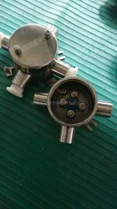 AH-鋁合金G3/4四通防爆接線盒