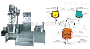 YGB專業藥品多功能室驗實膏霜乳化機生產線設備