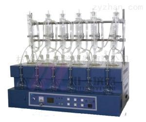 食品檢測一體化蒸餾儀CYZL-6Y揮發酚蒸餾器