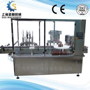SGSGX-30/15050ML全自動酵素液體灌裝生產線