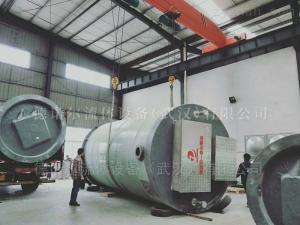 DNRP武汉 一体化集成泵站