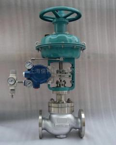 HSC籠式氣動低噪聲調節閥-上海儒柯