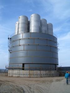 定制工業用低溫液體子母罐杜爾