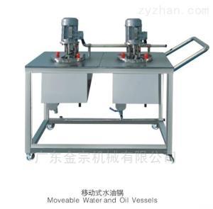 YGC不銹鋼移動水油儲液鍋