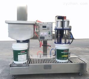 自动灌桶机20升化工液体灌装生产线