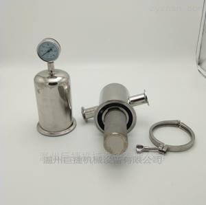 DN38MM不锈钢卫生级钛棒过滤器 除菌