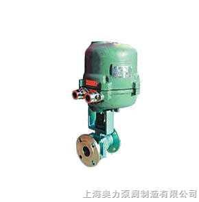 Q941F智能型電動調節球閥,電動智能型調節球閥,電動調節球閥(配3810執行器)