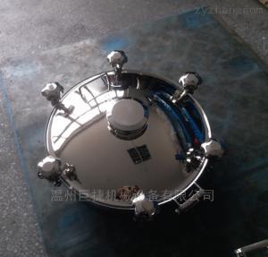 DN500MM不銹鋼卡箍式視鏡人孔