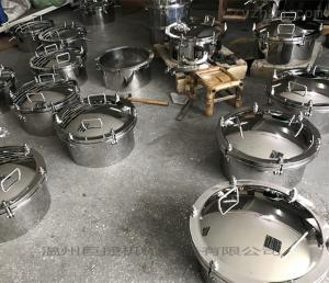 YAA定做加工各种卫生级不锈钢压力容器人孔