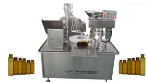 NFKFY30-100口服液糖漿藥用灌裝設備軋蓋灌裝生產線廠家