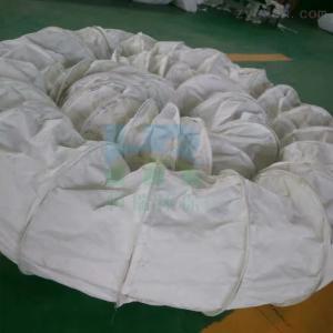 定制水泥廠散裝機伸縮除塵布袋
