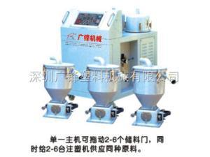 GFX-900G3一机多斗式塑料吸料机厂家/深圳多斗式塑料上料机/一机多斗式塑料填料机