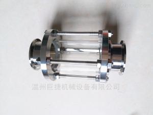 DN38MM304不锈钢卫生级快装玻璃管视镜