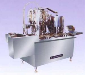 HX-25ml口服液洗烘灌軋全自動生產聯動線