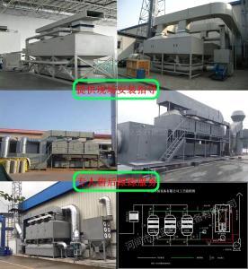活性炭吸附脱附催化燃烧设备工作原理