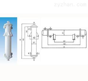 全塑、固定管板、列管式换热器