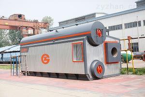 WNS19萬平供暖20噸燃氣熱水鍋爐耗氣量及價格