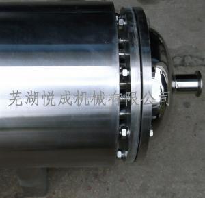 316L無菌級雙管板換熱器