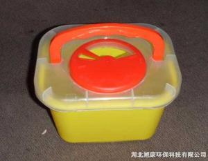 供应3L方形利器盒|锐器盒
