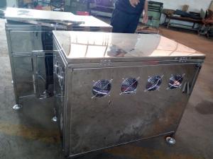 盒饭加热杀菌设备微波箱式干燥窑