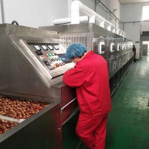 KER-SD大棗隧道式微波烘干殺菌設備 食品烘干機