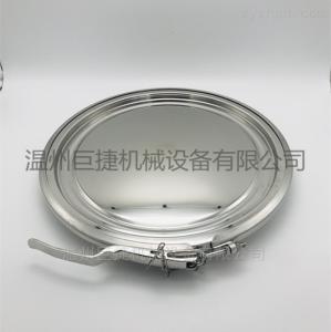 YAD350卫生级卡箍人孔 不锈钢转运桶人孔