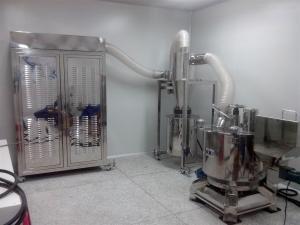 NVS-700A生产型重压研磨超微粉碎机