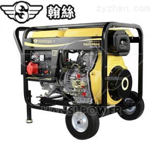 HS6800CE柴油開架工業5千瓦電啟動發電機