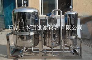 CBT-GPL米酒、保健酒過濾器、PE過濾機