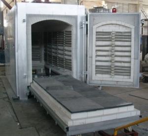 JINGWEI中温台车炉直销  实验电炉  小型台车烧结炉