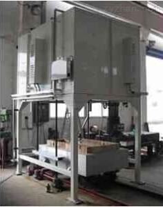 JINGWEI升降式台车炉热处理炉